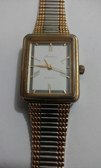 Relógio Mondaine Quartz Retangular Feminino (42a)