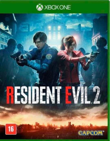 Resident Evil 2 Remake Xbox One + 2 Brindes