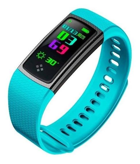 Binden Smartwatch Banda S9 Resistente Agua Medidor Cardiaco Fitness