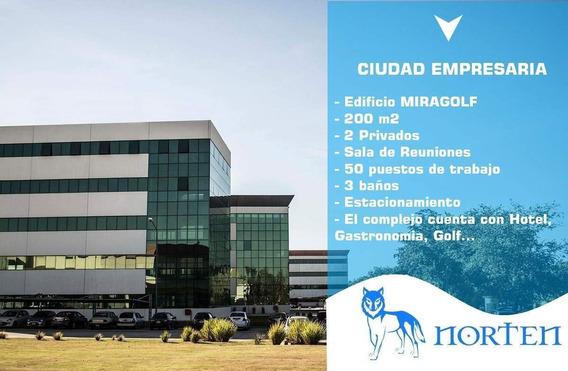 Oficinas En Alquiler - Oficina Comercial - 200m2, Ciudad Empresaria