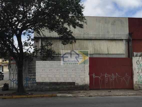 Galpão Para Alugar, 362 M² Por R$ 4.500/mês - Vila Figueira - Suzano/sp - Ga0006