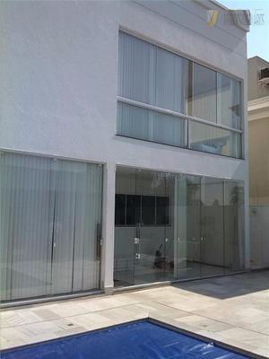 Sobrado Residencial À Venda, Condomínio Villa Lobos, So0114