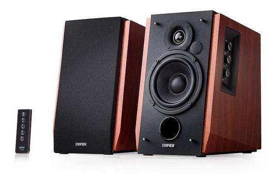 Monitor Áudio Bluetooth R1700bt Edifier 2.0-66w Rms-madeira