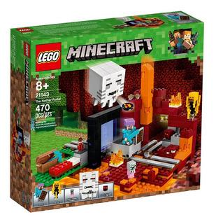 Lego Minecraft 21143 El Portal Al Infierno