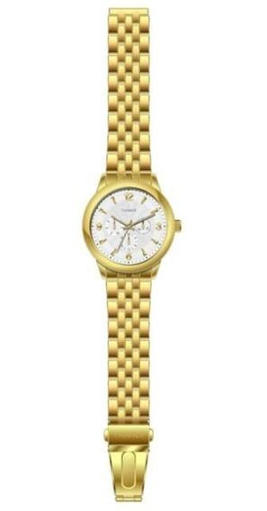Reloj Thinner 15923 Dorado