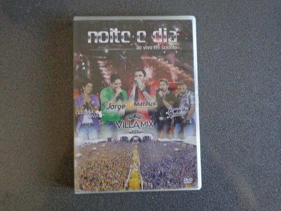 Noite E Dia Ao Vivo Em Goiania Dvd Usado Brasil 2011.