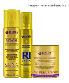 Richée Clinic Repair + Queratina Líquida + Riplex Reposito