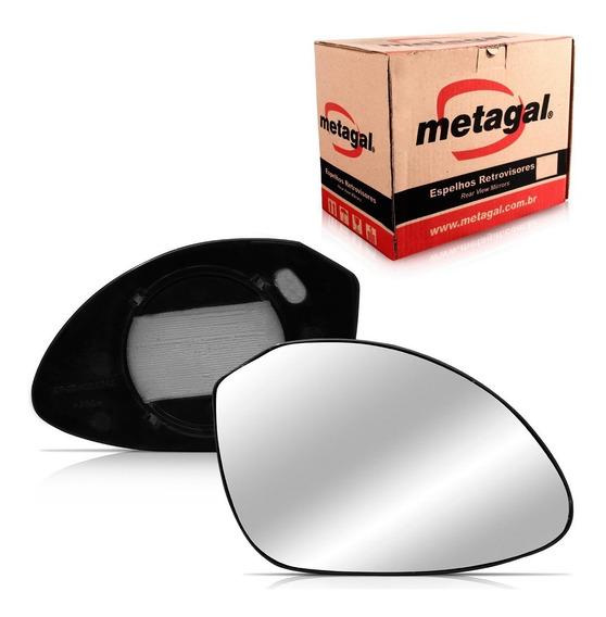 Lente Espelho Retrovisor Vectra 2000 01 02 03 04 05 Metagal