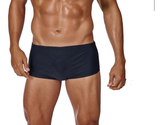 Sunga Praia Enchimento Frontal Boxer Preta P M G Gg Xgg