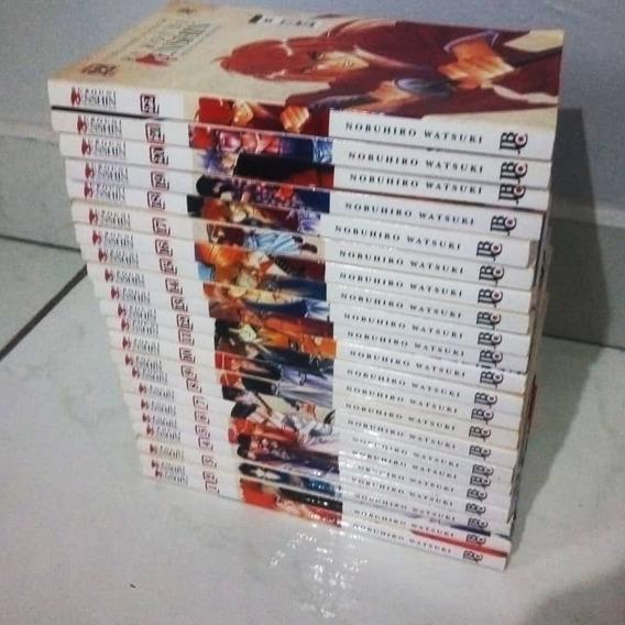 Mangá Samurai X - Edições 1-22.
