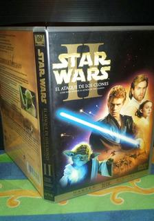 Star Wars 2 2dvd El Ataque De Los Clones Excelente