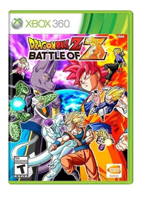 Jogo Dragon Ball Z Battle Of Z Xbox360 Seminovo Com Garantia