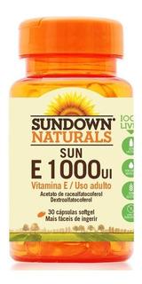 Vitamina E 1000 Ui 30 Cápsulas Sundown Naturals