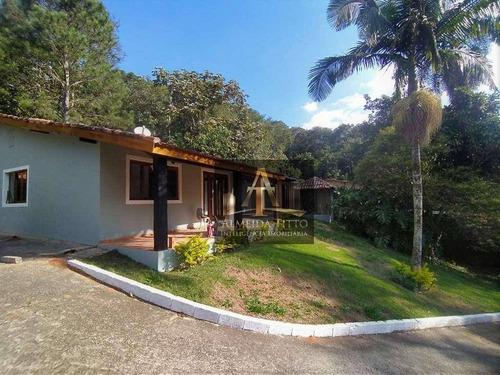 Excelente Casa Térrea À Venda No Condomínio Jardim Colibri - Cotia/sp,  Com 3 Dormitórios Sendo 3 Suítes, 10 Vagas Para Carro  Edícula Independente - Ca2019