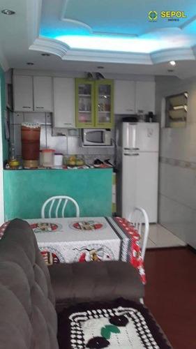 Apartamento Com 2 Dormitórios À Venda, 50 M² Por R$ 230.000,01 - Jardim Santa Terezinha (zona Leste) - São Paulo/sp - Ap0685