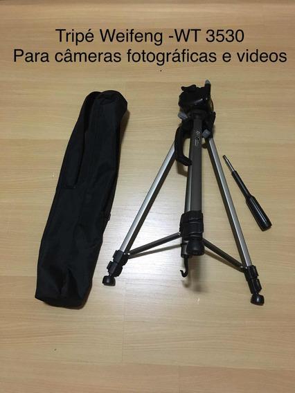 Tripé Weifeng -wt3530 -1470 Mm Para Câmeras Fotográficas