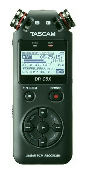 Gravador Digital Voz Tascam Dr-05x Audio Usb Dr 05x (2019)