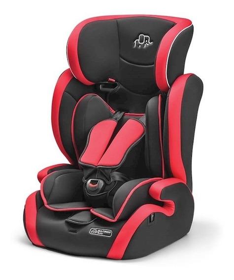 Cadeira Para Auto Multikids Baby 9-36 Kg (i, Ii, Iii) Vermel