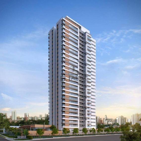 Apartamento Com 3 Dormitórios À Venda, 125 M² Por R$ 1.178.000,00 - Taquaral - Campinas/sp - Ap18075