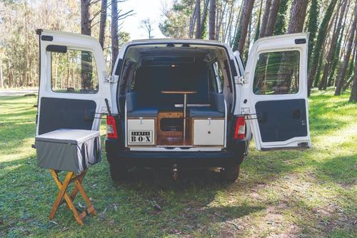 Imagen 1 de 15 de Camper Box Kangoo, Partner Y Otros Utilitarios Monovolumen