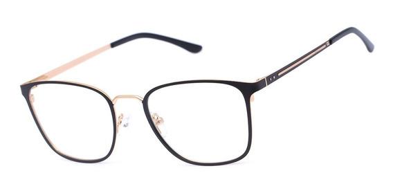 Armação Oculos Ogrife Og 1108-c Masculino Com Lente Sem Grau