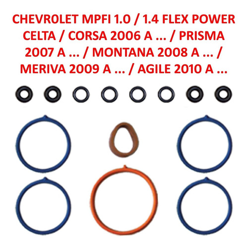 Reparo Tbi Chevrolet 1.0/1.4 Celta, Corsa, Prisma, Montana..