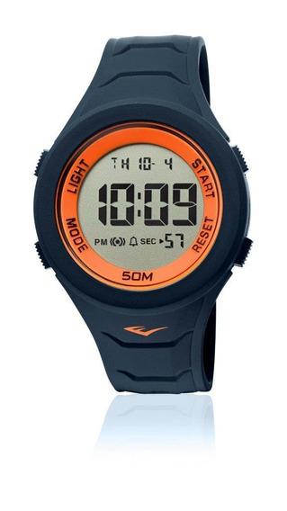 Relógio Everlast Digital Unissex Cx E Pulseira Silicone E711