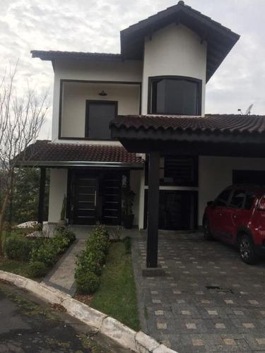 Condomínio Parque Das Rosas Sobrado Com 3 Dormitórios À Venda, 200 M² Por R$ 850.000 - Roselandia - Cotia/sp - So2135