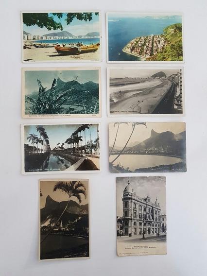 Coleção Cartões Postais Antigos Rio De Janeiro Lote 2