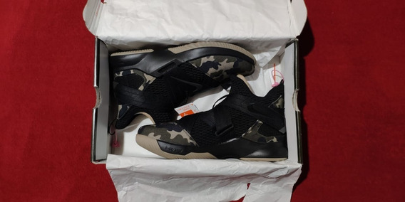 Zapatilla De Basquet Nike Lebron 12 Camuflada 10.5us Usada