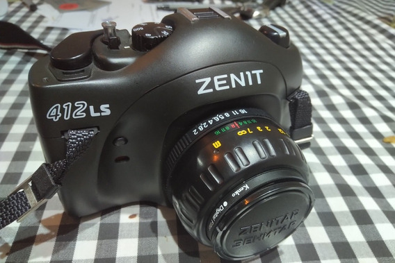 Zenit 412 Ls Máquina Fotográfica Câmera Russa