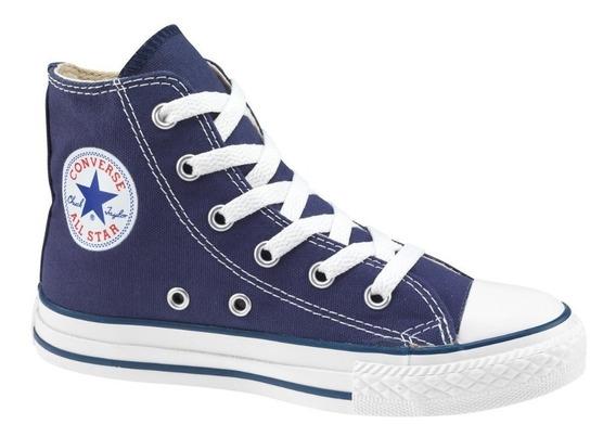 Zapatilla Converse All Star Azul Bota Lona 156996