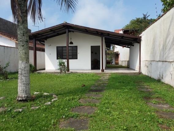 Casa Na Praia, Lote Inteiro Em Mongaguá Ref 7656w