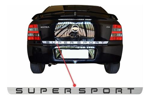 Adesivo Astra Super Sport Ss Porta Malas Traseira 011
