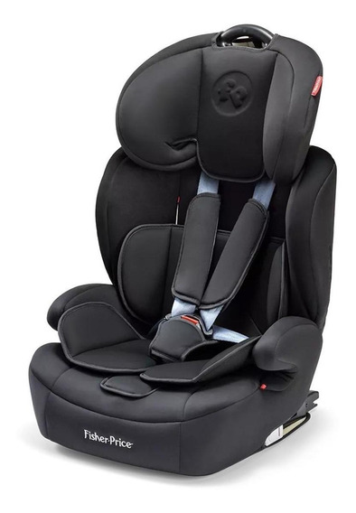 Booster com apoio Fisher-Price Safemax Fix Preto