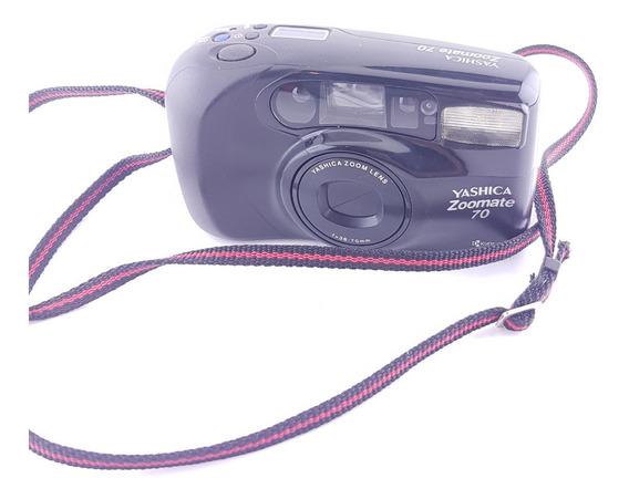 Câmera 35mm Analógica Yashica Zoomate 70 (aceita Ofertas)