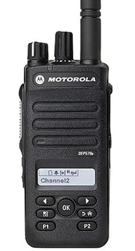 Radio Portátil Motorola Mototrbo - Dep570e