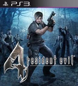 Resident Evil 4 Hd Remaster Midia Digital Ps3