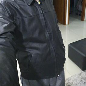 Jaqueta De Couro Nova Masculina