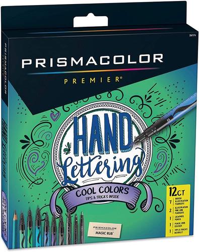 Prismacolor Premier Marcadores + Goma + Lapiz Grafito 12 Ct.