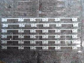 Barra Led Konka Tv Philco Sti 48 Pol. Aluminio Kit 6 Barras