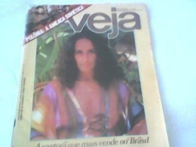 Revista Veja 640 Capa Maria Bethânia Diversos