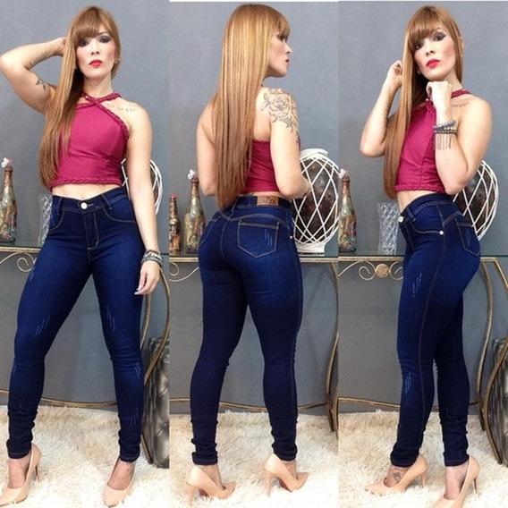 Calça Jeans Feminina Skini Super Stretch - Jeans 02
