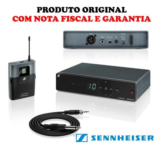 Transmissor Sennheiser P/ Instrumentos Xsw1 Cl1 Original