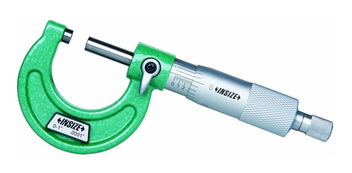 Micrometro Exterior Insize 3203- 25 Rango 0-25mm