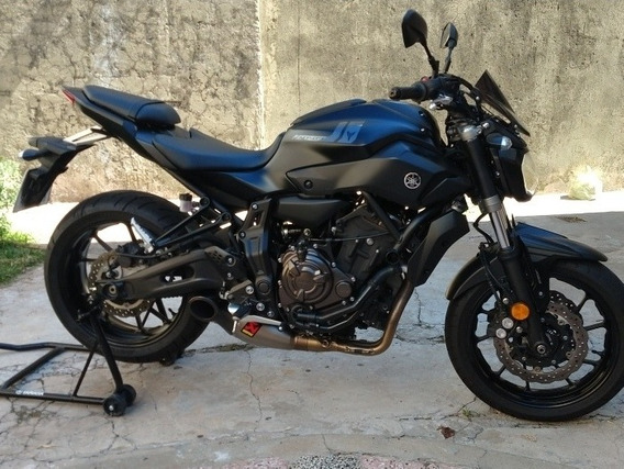 Yamaha Mt07 Akrapovic Dolar Billete Optica Full Led