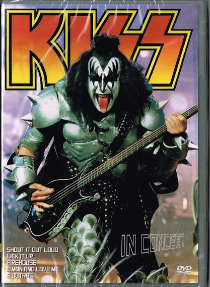 Dvd Kiss - In Concert