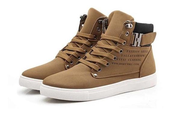 Tenis Fashion Shoes Cano Longo Casual Importado