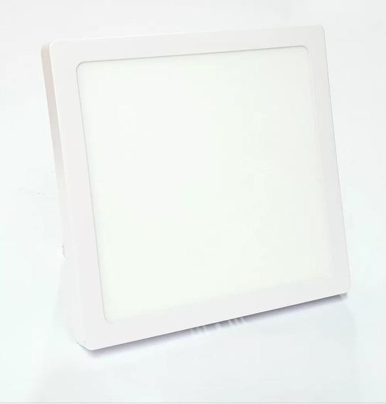 Painel Plafon Luminária Led 18w Sobrepor Branco 6500k