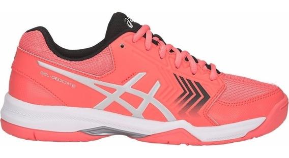 Tênis Asics Gel Dedicate Coral Feminino P/ Padel/tennis Nf